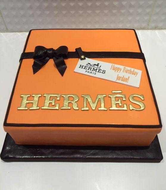 Hermes Custom Cake